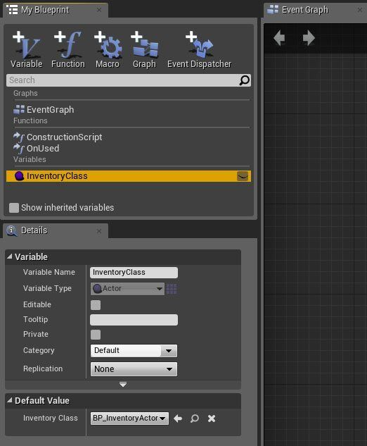 Tutorial] Basic Inventory System in Blueprint - Tom Looman