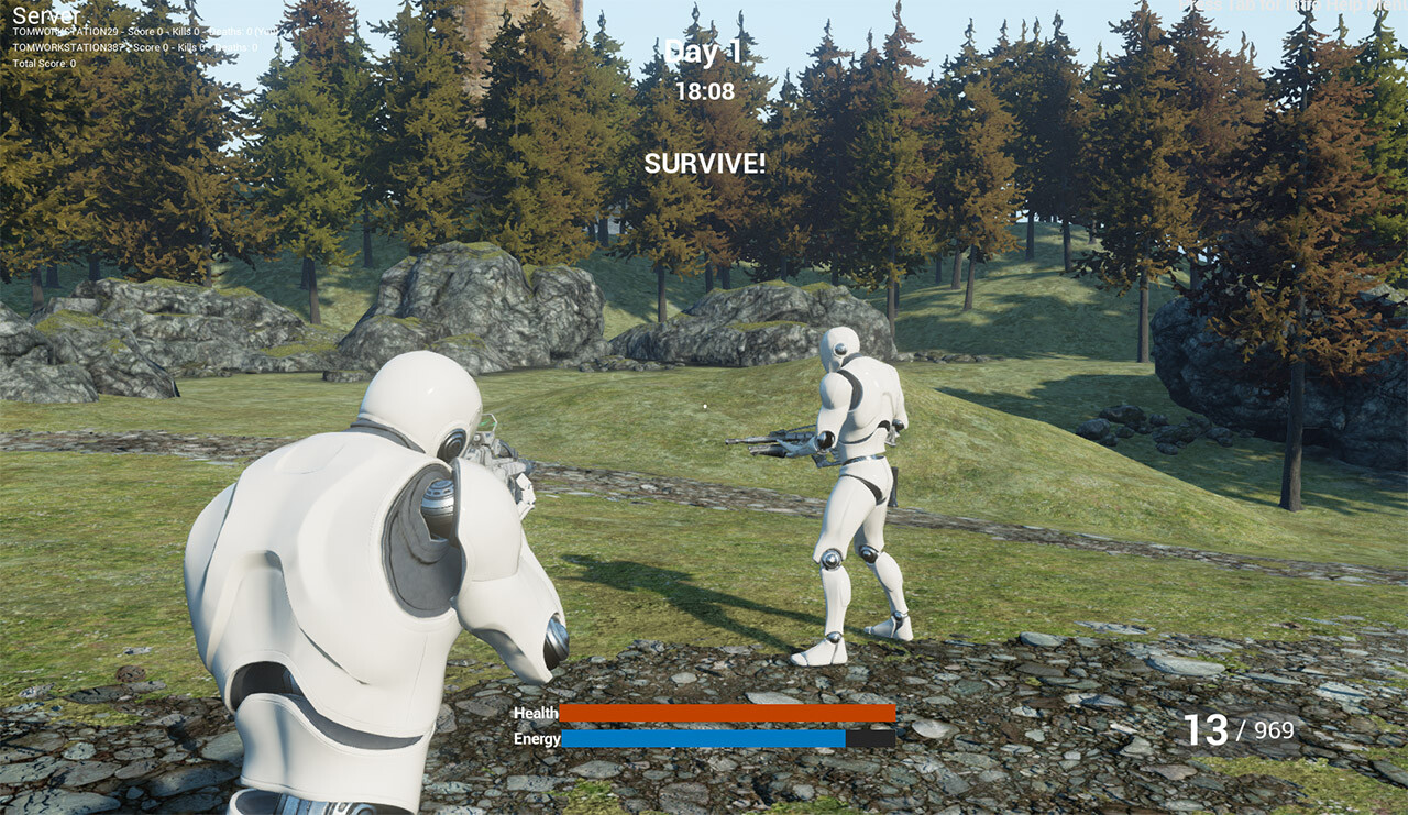Unreal Engine 4 C++ Survival Game Tutorial Series