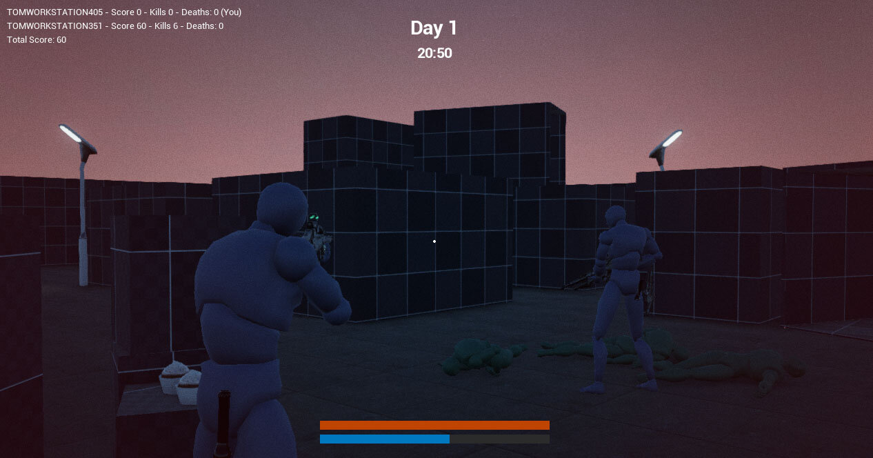 Time of Day, Gameloop and Spawning - C++ Survival Game