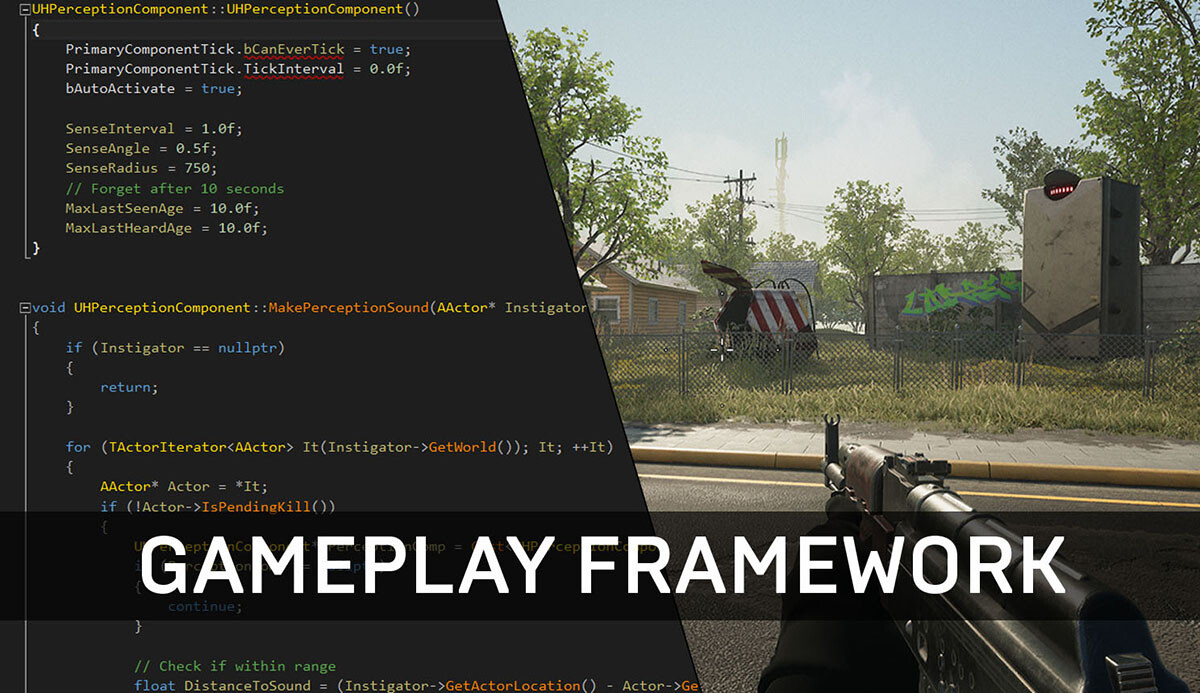 Unreal Engine Gameplay Framework Primer for C++ - Tom Looman