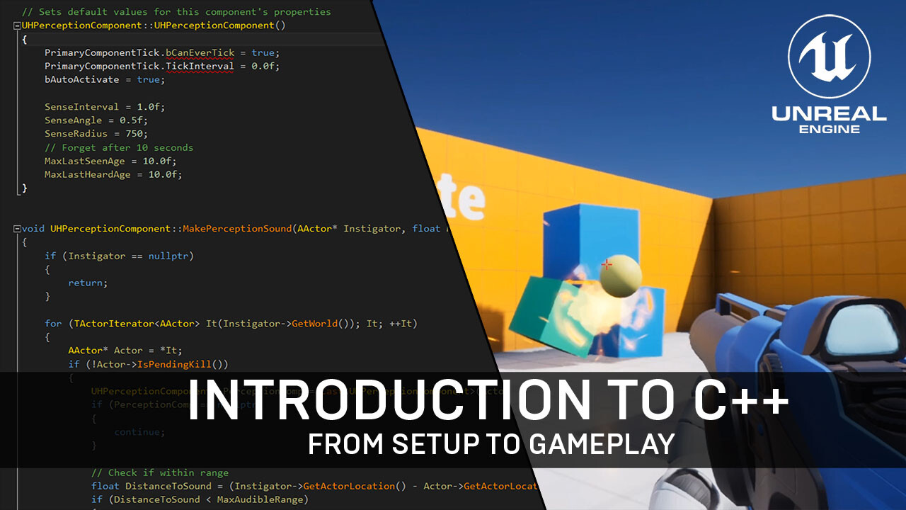e5dd354d1 Video  Introduction to C++ for Unreal Engine 4 - Tom Looman